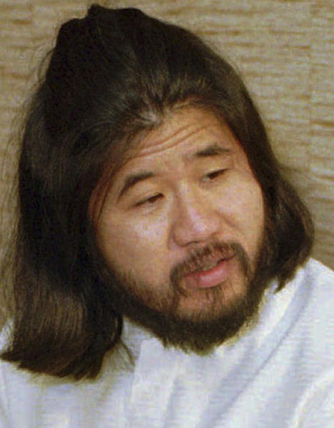 Japan sarin attack cult leader Shoko Asahara executed