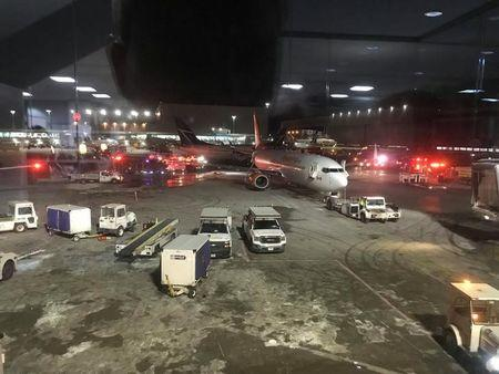 No injuries reported after two planes collide on Pearson's tarmac