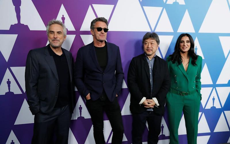Nominees for the Foreign Language Film category attend a pre Oscar reception in Beverly Hills - REUTERS