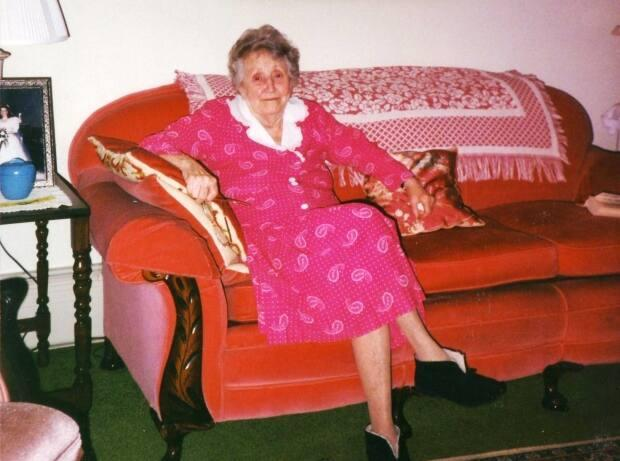 Dorothy Palmer was born Dorothy McKenna in 1904. Her grandparents came to P.E.I. from Ireland in the 1840s.