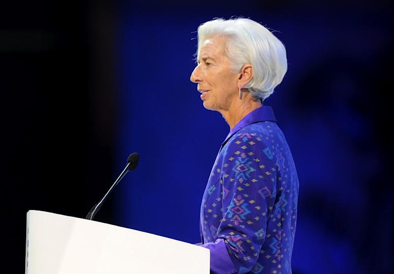 IMF chief Christine Lagarde Lagarde said her plans to attend an economic meeting in Riyadh were unchanged for now, despite international uproar over the case of missing journalist Jamal Khashoggi