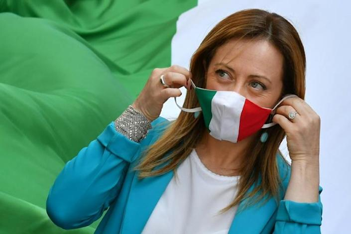 Far-right leader Georgia Meloni's Brothers of Italy party is close to becoming Italy's most popular party in opinion polls
