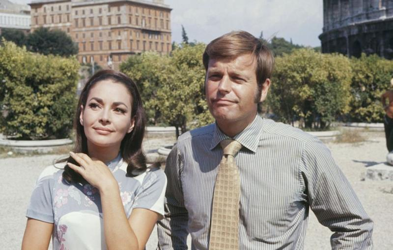 Karin pictured with Robert Wagner in 1969's 'The Three Virgins Of Rome'. Source: Getty