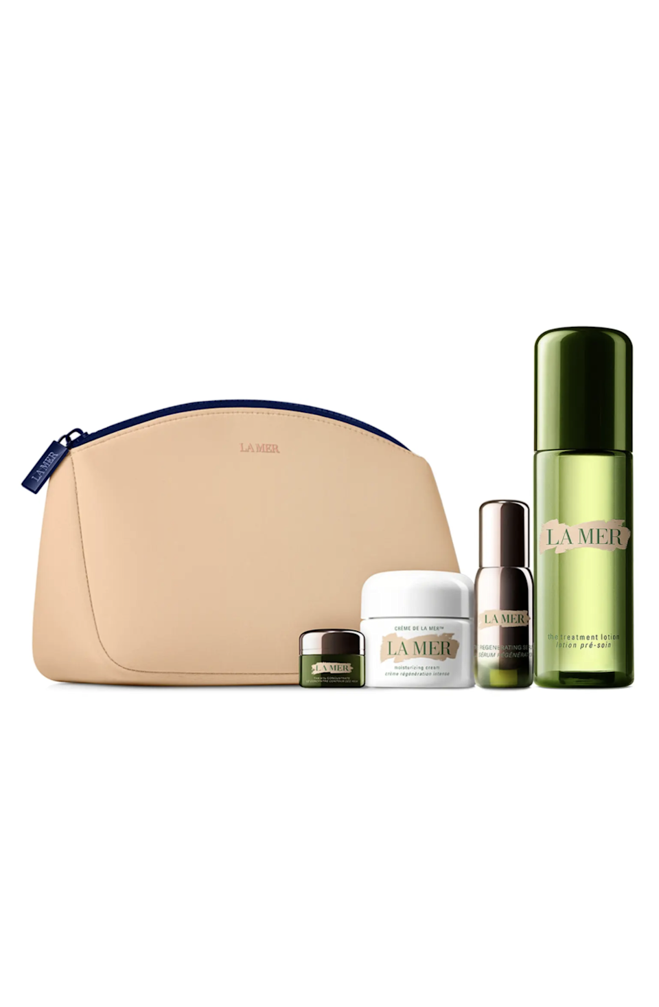 """<h2>La Mer Revitalizing Soothing Set</h2><br>Nothing says """"luxe"""" quite like La Mer, especially when encased in a chic travel pouch you'll want to use again and again. It's the ultimate gift for the skin-care superfan in your life. <br><br><strong>La Mer</strong> Revitalizing Soothing Set ($545 Value), $, available at <a href=""""https://go.skimresources.com/?id=30283X879131&url=https%3A%2F%2Fwww.nordstrom.com%2Fs%2Fla-mer-revitalizing-soothing-set-545-value-nordstrom-exclusive%2F5919475%3F"""" rel=""""nofollow noopener"""" target=""""_blank"""" data-ylk=""""slk:Nordstrom"""" class=""""link rapid-noclick-resp"""">Nordstrom</a>"""