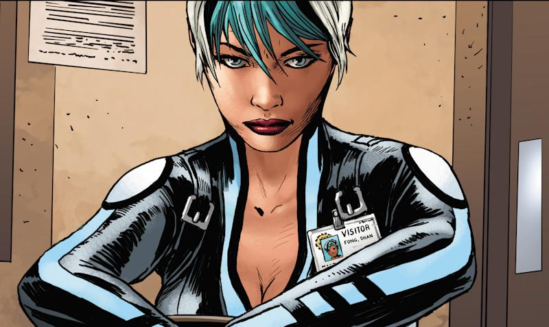 20 years on, Valiant's Dr. Mirage reborn, remade
