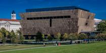 """<p>This Smithsonian museum is the only national museum exclusively dedicated to the documentation of African American history, life, and culture, allowing visitors to explore these concepts through interactive exhibitions unique to anything else in the country. From clothing to politics to hip-hop and literature, <a href=""""https://nmaahc.si.edu/"""" rel=""""nofollow noopener"""" target=""""_blank"""" data-ylk=""""slk:National Museum of African American History and Culture"""" class=""""link rapid-noclick-resp"""">National Museum of African American History and Culture</a> features more than 36,000 artifacts, live conversations with curators and experts, and fascinating initiatives to help preserve various aspects of Black history, art, and culture.</p>"""