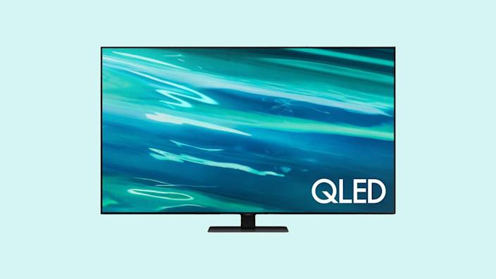 The Reviewed testers recommended Samsung's Q80A QLED 4K Smart TV has a ton of knock-em-dead features.