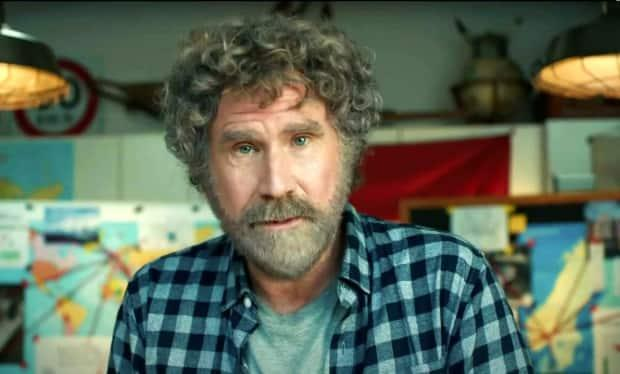 Comedian Will Ferrell, seen in a screenshot from the video, appeared in a Super Bowl commercial on Sunday to promote General Motors' expanded foray into electric cars.  (YouTube/General Motors - image credit)