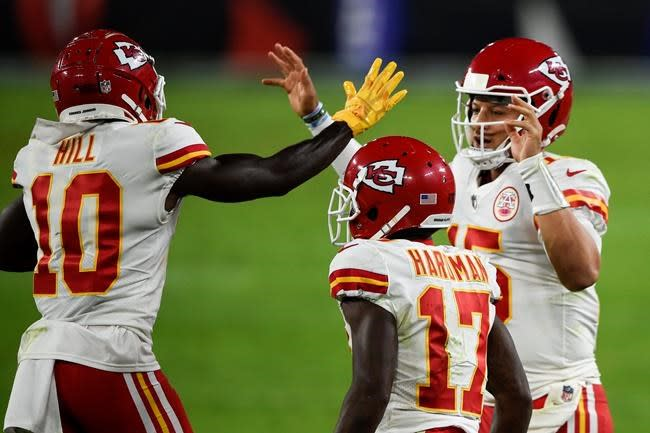 Chiefs' high-octane offence has wide variety of playmakers