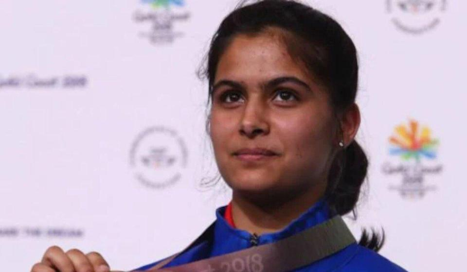 Manu Bhaker is confident of success at the Tokyo Olympics. Photo: AFP