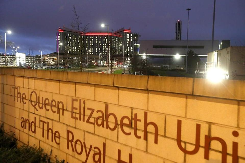 The inquiry will look at the Queen Elizabeth University Hospital in Glasgow (Andrew Milligan/PA) (PA Archive)