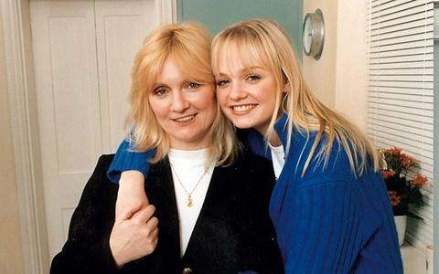 Bunton with her mum, Pauline, in 1997 - Credit: BBC