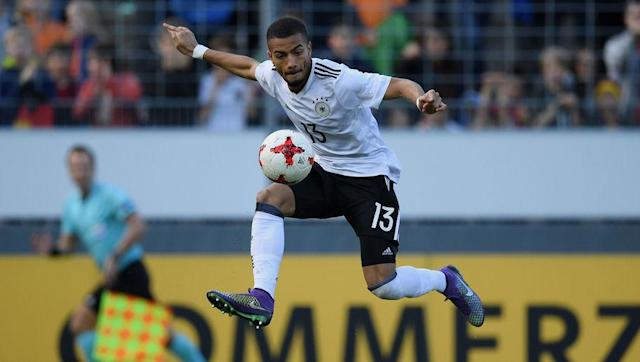 <p>The 23-year-old Hoffenheim left back enjoyed a fine season in 2016-17 as Julian Nagelsmann's side ensured qualification to the play-off round of the Champions League.</p> <br><p>He was part of the Germany side which won the silver medal at the 2016 Olympics and also played in the European U-21 Championship this summer. </p>