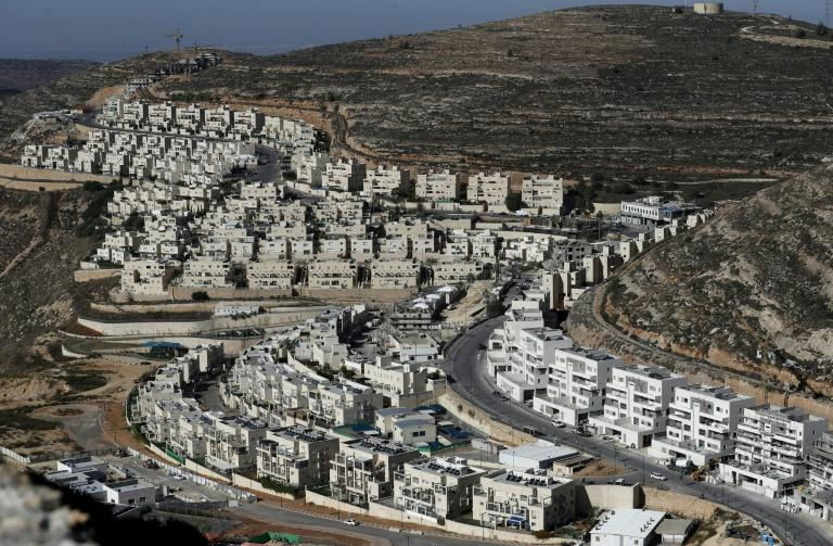The expansion of Israeli settlements in the West Bank and annexed east Jerusalem has gone on apace under the right-wing government of Prime Minister Benjamin Netanyahu, a close ally of US president Donald Trump (AFP Photo/AHMAD GHARABLI)