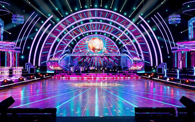 Elstree studios is home to the Strictly set