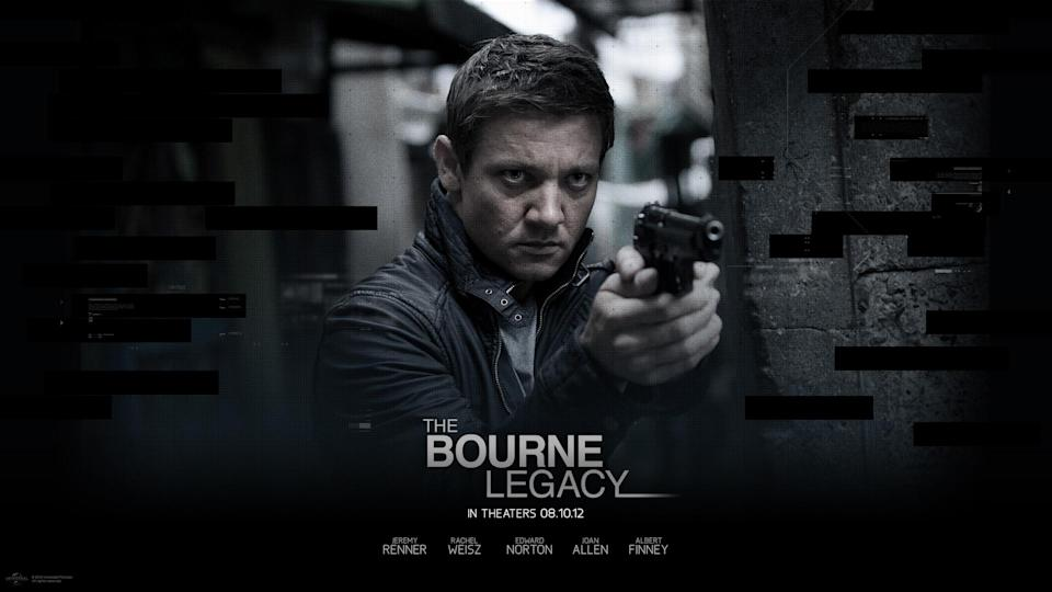 The poster for 'Bourne Legacy', released in 2012 - Credit: Universal Pictures