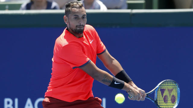 A former world number 13, Nick Kyrgios feels the top 10 is a realistic target in 2019.