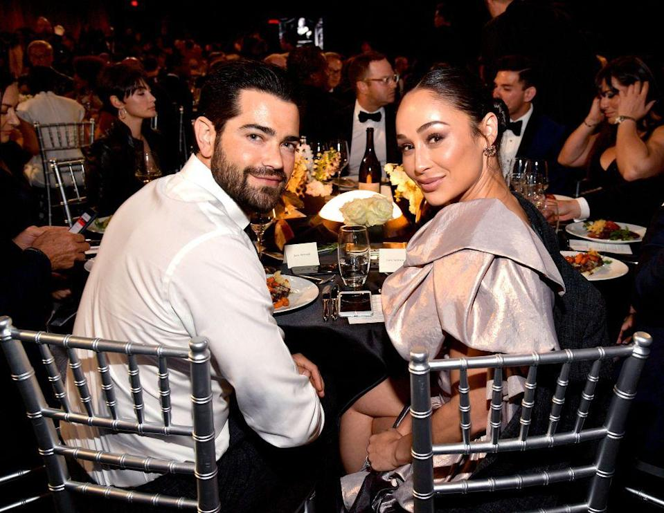 """<p>For some, the pandemic has been a good way to avoid your ex—unless you share a house with them. Cara Santana and Jesse Metcalfe were still having <a href=""""https://www.usmagazine.com/celebrity-news/news/jesse-metcalfe-cara-santana-are-quarantining-together-after-split/"""" rel=""""nofollow noopener"""" target=""""_blank"""" data-ylk=""""slk:conversations about their breakup"""" class=""""link rapid-noclick-resp"""">conversations about their breakup</a> when the pandemic happened. Because they shared a house together, the couple have been co-habitating with Jesse living in the guest house. </p>"""
