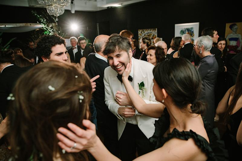 Two of my best friends from college, Amanda Stoffel and Tobin Mitnick, were among the many pairs of blissed-out newlyweds present.