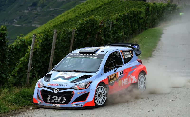 Rallying - Hyundai's Neuville claims maiden win in German Rally