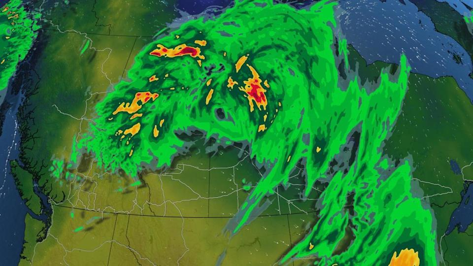 Isolated severe storms return to the Prairies to kick off September