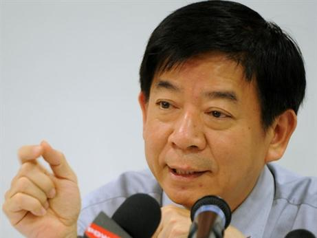 National Development Minister Khaw Boon Wan is worried about the private property market. (AFP)