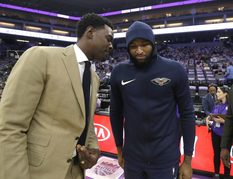 Chris Webber and DeMarcus Cousins both criticized Grant Napear before his resignation. (AP Photo/Rich Pedroncelli)