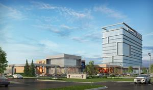 The development will feature up to 1,000 slot machines, 50 table games, a 125-room luxury hotel, a state-of-the-art TwinSpires sportsbook and several food & beverage offerings.