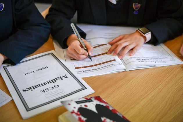 The government is expected to return to a full GCSE exam system next summer (Photo: Ben Birchall - PA Images via Getty Images)