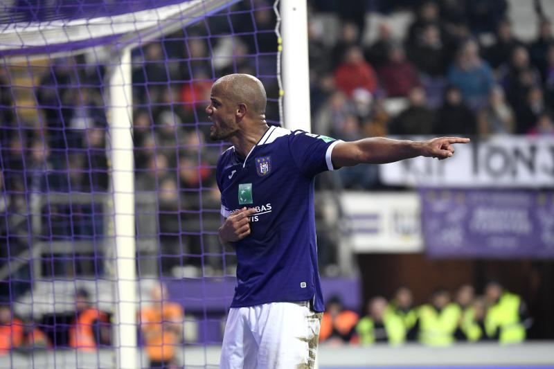 Vincent Kompany took a stand against his own Anderlecht fans. ( Photo by Philippe Crochet / Photo News via Getty Images)