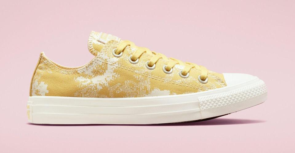 """The Converse Chuck Taylor All Star """"Hybrid Floral."""" - Credit: Courtesy of Converse"""