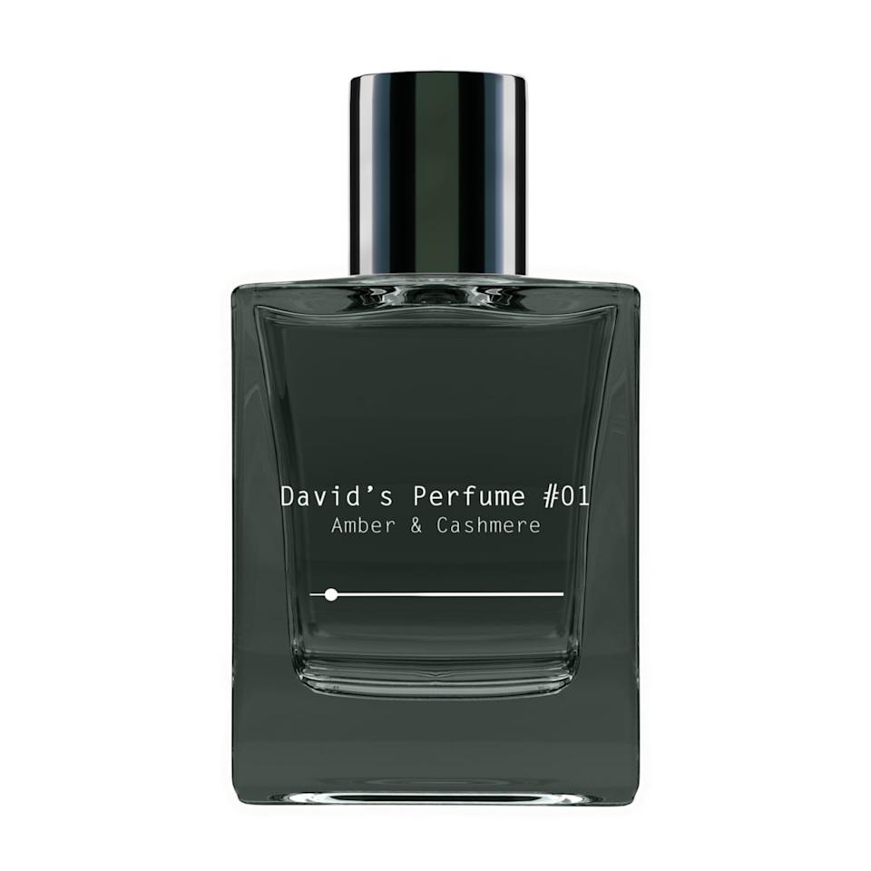 """<p><product href=""""https://www.davidsperfume.com/products/davids-perfume-1-amber-cashmere"""" target=""""_blank"""" class=""""ga-track"""" data-ga-category=""""internal click"""" data-ga-label=""""https://www.davidsperfume.com/products/davids-perfume-1-amber-cashmere"""" data-ga-action=""""body text link"""">David's Perfume #01: Amber &amp; Cashmere</product> ($60) matches the laid-back vibe of an Aquarius. It has a subtle spice and woody smell that's just as unique as you are. </p>"""