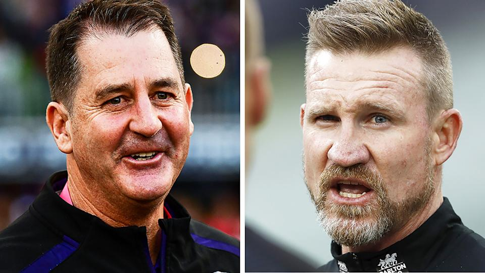 Ross Lyon says he's interested in the vacant Collingwood coaching job after Nathan Buckley's exit.