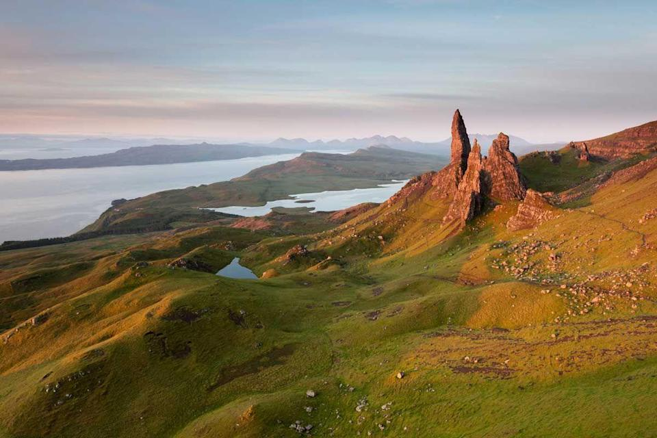 """<p>If stunning scenery is your bag, the Isle of Skye should absolutely be on your travel checklist. Home to some of Scotland's most incredible landscapes, it's like driving through a film set. If you're lucky, you might even catch a glimpse of the Northern Lights during your trip. </p><p><a class=""""link rapid-noclick-resp"""" href=""""https://go.redirectingat.com?id=127X1599956&url=https%3A%2F%2Fwww.airbnb.co.uk%2Fs%2FSkye--United-Kingdom&sref=https%3A%2F%2Fwww.cosmopolitan.com%2Fuk%2Fentertainment%2Ftravel%2Fg30397906%2Fbest-places-to-visit-uk%2F"""" rel=""""nofollow noopener"""" target=""""_blank"""" data-ylk=""""slk:BOOK NOW"""">BOOK NOW</a></p>"""