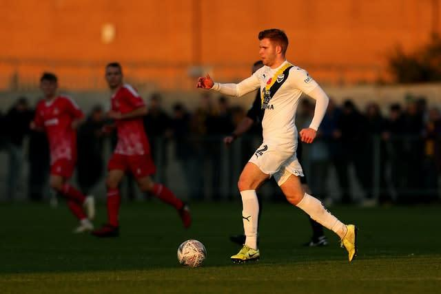 Cadden in action for Oxford (PA)