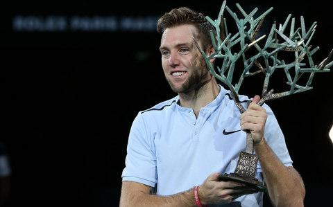 <span>Jack Sock won the Paris Masters</span> <span>Credit: Getty Images </span>