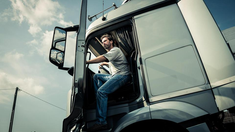 """<p><strong>Median salary:</strong> $<span>42,480 </span></p> <p>Being a truck driver might come with the thrill of the open road and exploration of new places, but the work can be very demanding and lonely. What's more, a truck driver's work is incredibly sedentary, and it doesn't leave much time for exercise or the ability to follow a proper diet.</p> <p>Drivers often spend weeks on the road isolated from families and friends, more so than any other occupation, said Jake Tully<em>, </em>Editor In Chief at TruckingIndustry.News.</p> <p>""""Over-the-road trucking jobs can pay very well and provide a steady job for those willing to take them on, but many drivers find it difficult to establish any sort of personal life in their time off, other than resting up for the next haul or some limited interaction with those around them,"""" Tully said.</p> <p>If spending more time around home is your priority, consider being a local-delivery or short-haul driver instead.</p> <p><em><strong>Read More: <a rel=""""nofollow noopener"""" href=""""https://www.gobankingrates.com/making-money/7-tips-change-career-unhappy/"""" target=""""_blank"""" data-ylk=""""slk:24 Tips to Change Your Career If You're Unhappy"""" class=""""link rapid-noclick-resp"""">24 Tips to Change Your Career If You're Unhappy</a></strong></em></p>"""