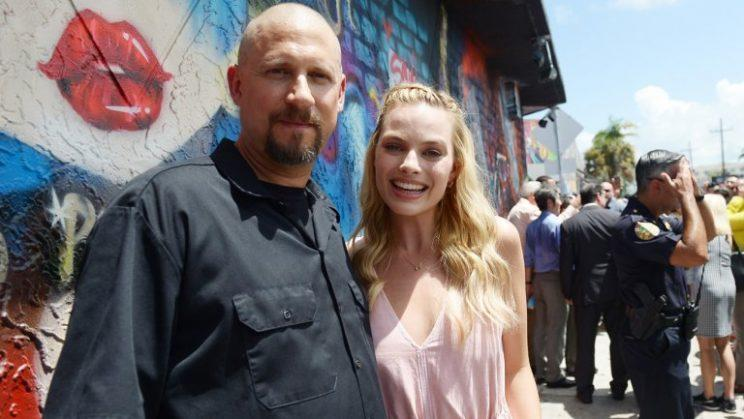 David Ayer and Margot Robbie