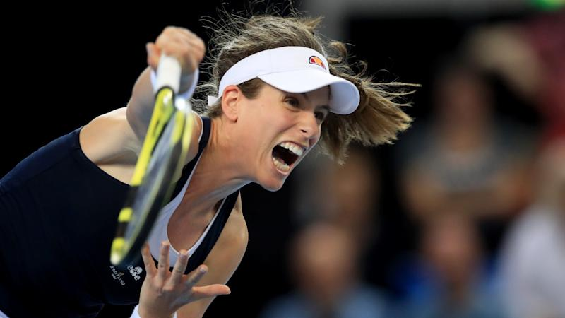 Resurgent Johanna Konta into Italian Open final after fightback against Kiki Bertens
