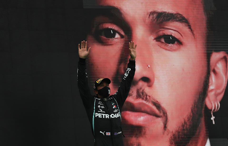 Lewis Hamilton surpassed Michael Schumacher's record with his 92nd victory - but is he the greatest F1 driver in history (Reuters)