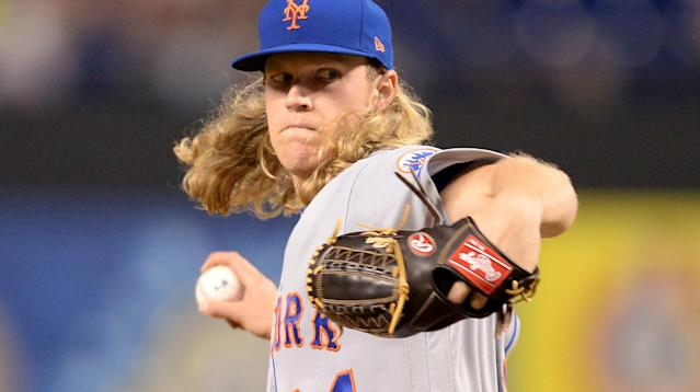 Noah Syndergaard just threw President Donald Trump a high, hard one on Twitter.