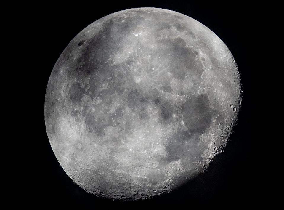 Nasa has discovered bodies of water on the Moon (Associated Press)