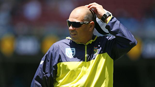 South Africa head coach Russell Domingo was told he would have to reapply for his job if he wants to stay in the role.