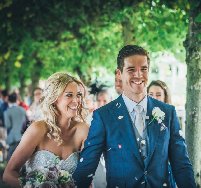 Sophie and Shan got married after a year of dating. Source: Supplied
