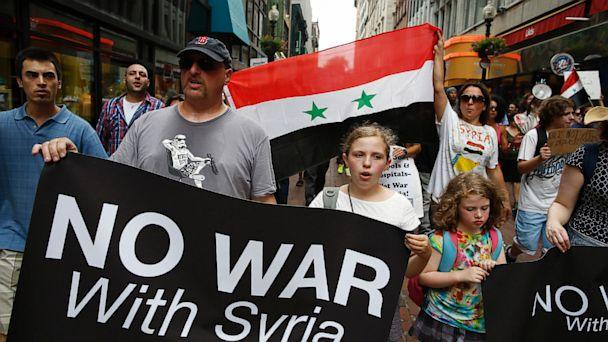 gty syria war opposition kb 130903 16x9 608 Six in 10 Oppose U.S. Only Strike on Syria; A Closer Division if Allies are Involved