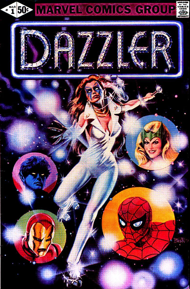 The cover of 'Dazzler' #1 (credit: Marvel Comics)
