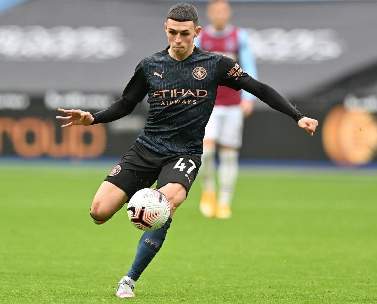 Manchester City midfielder Phil Foden scored the equaliser at West Ham