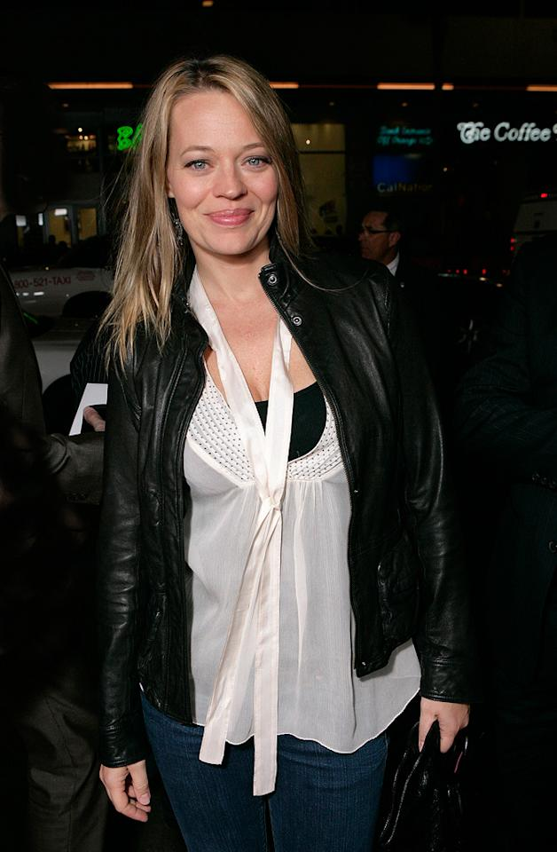 """<a href=""""http://movies.yahoo.com/movie/contributor/1800361266"""">Jeri Ryan</a> at the Los Angeles premiere of <a href=""""http://movies.yahoo.com/movie/1810007086/info"""">Max Payne</a> - 10/13/2008"""