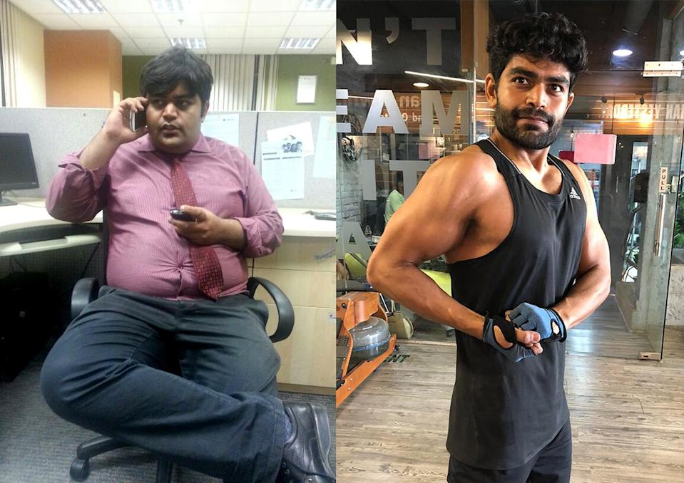 """I remember being fat ever since I was 10 years old."" (Photo courtesy of Lakshya Batra)"