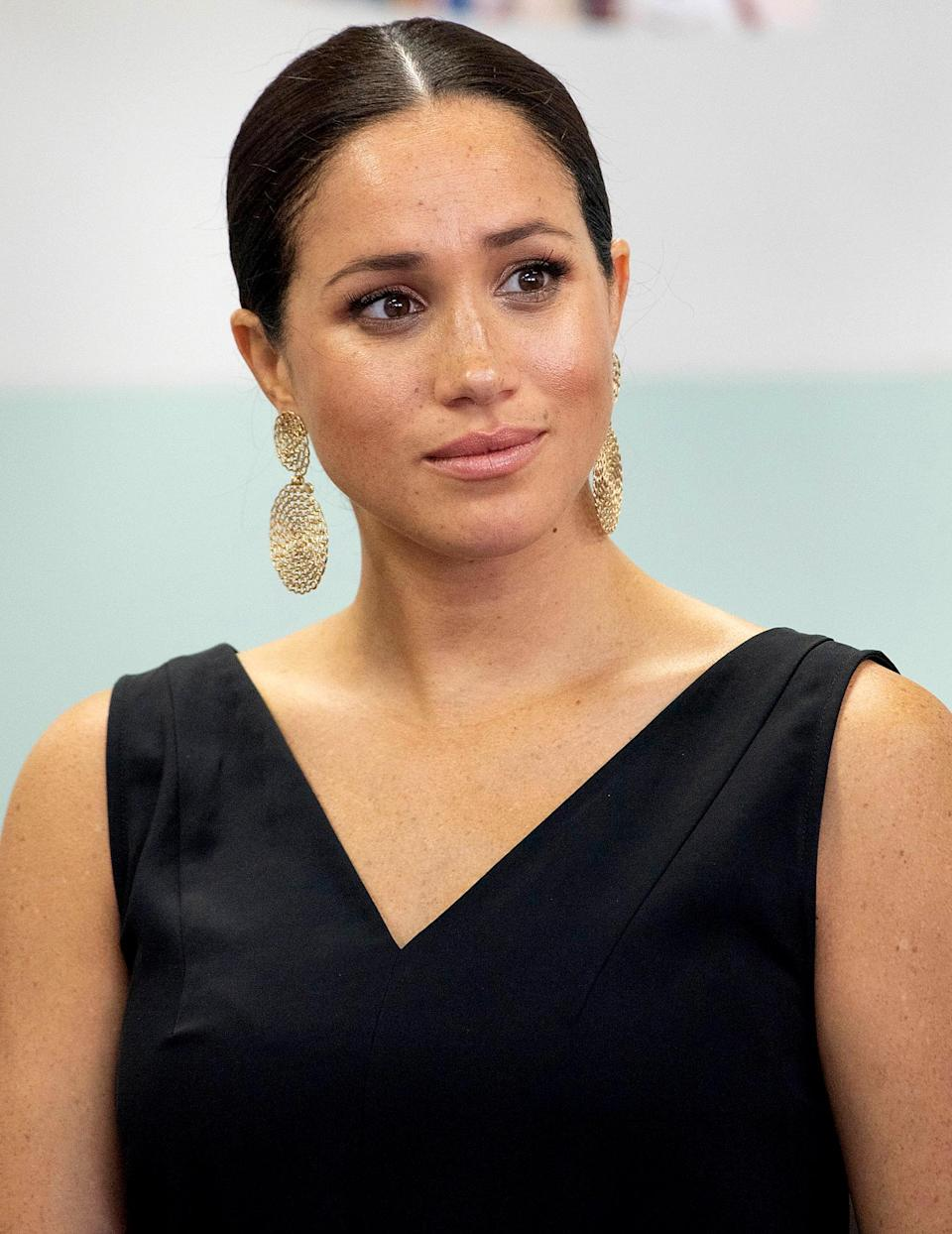"""<p>The Duchess of Sussex broke barriers with her Nov. 25 essay in <em>The New York Times</em> that detailed a miscarriage she suffered earlier in the year. The confessional op-ed was a departure from royal norms — much like her move with Prince Harry and their young son Archie to California earlier this year. In her piece, Meghan also touched on larger themes, including the Black Lives Matter movement and rising political division, and referenced her own 2019 interview in which she admitted she was """"not okay."""" """"Let us commit to asking others, 'Are you okay?' """" she wrote. </p>"""